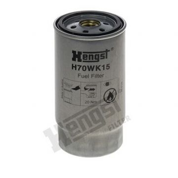MUN000010 H70WK15 Hengst Fuel Filter (Engine Bay)